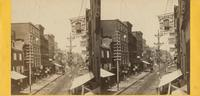 Third Street, above Chestnut. [graphic] / Photographed by Bartlett & French, Phila.