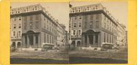 Seventh National Bank, 401 Market Street, Philadelphia, Pa. [graphic] / M.P. Simons, photographer, and dealer in stereoscopes and stereoscopic pictures, No. 1320 Chestnut Street, Philadelphia.