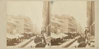 [Chestnut Street in the snow, view east from Odiorne's studio at 920 Chestnut Street] [graphic].