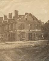 [Wines and liquors. Wholesale and retail store, northeast corner Second and Spruce streets] [graphic].
