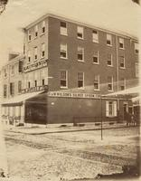 [Wm. Wilson & Son, manufacturers of silverware, northwest corner Fifth and Cherry streets] [graphic].