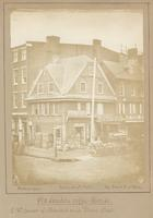 Old London coffee house, s.w. corner of Market and Front street. [graphic] / Photograph taken Augt. 1858 by James E. McClees.