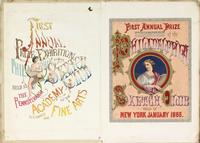 First annual prize exhibition of the Philadelphia Sketch Club held in New York January 1866. [graphic].