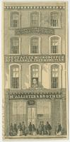 [McAllister & Brother, opticians, 728 Chestnut Street, Philadelphia] [graphic] / A. Bigot, del.