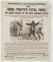 Undercurrents of the Southern conspiracy! : The rebel pirate's fatal prize : the bloody tragedy of the prize schooner Waring ....