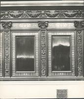 [Philadelphia City Hall, detail of wood panels in Select City Council Chamber] [graphic].