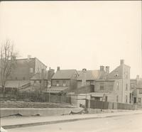 Rear of houses on Paul and ___ Sts. Frankford, Phila[delphia] [graphic].