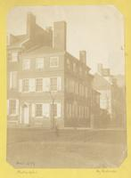 "Rittenhouse Mansion. Northwest corner of Arch and Seventh Street. Sometimes called ""fort Rittenhouse"" [graphic] / Photograph by Richards."
