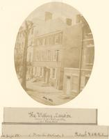 The Willing Mansion. Corner s.w. Willings Alley and Third Street. [graphic] / Photogrh. F.D.B. Richards.