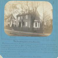"The dwelling-place of the Annalist. [graphic] : This house is situated on Price St. was built by, and now occupied by the venerable and respected and esteemed John F. Watson, in Germantown. Of it he thus writes, ""if sufficiently curious - is the house of"
