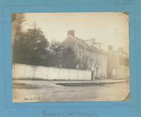 Residence of Genl. Washington. [graphic] : This house, writes Mr. Watson, was once the residence of Genl. Washington, and before him, of Genl. Howe, and the prince youth afterwards King William (IX of Engd.), now Samuel B. Morris' residence, [lately decea