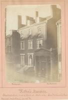 "Kohn's Mansion. Chestnut Street, west of Tenth St. North side. Late ""Parkinson's Restaurant, confectionery, garden"" &c. [graphic] / Photograph by Richards."