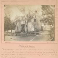 "Macknett's Tavern. [graphic] : ""It is picturesque,"" writes Mr. Watson; ""it existed in the time of the revolution, and was then, and afterwards, the prominent tavern for visits of city gentleman. It is now owned by George W. Carpenter, and has no history."""