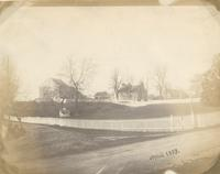 [The house and farm of Thomas Godfrey on the corner of Limekiln Road and Church Lane, Germantown] [graphic].