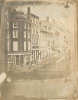 [Northeast corner of Chestnut and Second streets] [graphic].