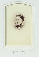 Alice Cary, 1820-1871 [graphic].