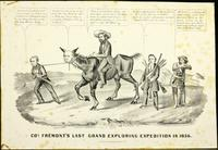 Col. Fremont's last grand exploring expedition in 1856. [graphic] /. For Sale at no. 2 Spruce St. N.Y.