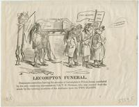 Lecompton funeral. [graphic] / Hy.