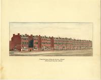 From Willings Alley to Spruce Street, east side of Fourth Street. [graphic] / B.R. Evans.