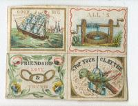 [Illustrated letter seals containing admonitions] [graphic].