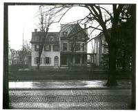 Exterior of unidentified residence, possibly in Germantown