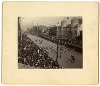 Constitutional Centennial Parade. 9 mo. 16, 1887. The Marine Band, [Philadelphia]