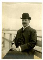 Marriott C. Morris on the boardwalk