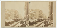 [Chestnut Street in the snow, view east from Odiorne's studio at 920 Chestnut Street]