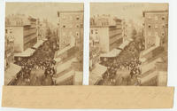 Col. M. Corcoran addressing the crowds in front of the Continental Hotel, Phila., August 21, 1862.