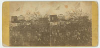 [Funeral procession for President Lincoln, 1000 block of South Broad Street, Philadelphia, April 22, 1865]