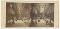 [Unidentified commercial interior, possibly dealer of glass and fancy goods, Philadelphia]