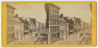 [Arch Street looking east from below Seventh Street, Philadelphia]