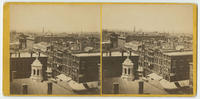 Panoramic view of Philadelphia west from State House.