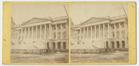 [East front of the U.S. Capitol during the final stages of construction, Washington, D.C.]