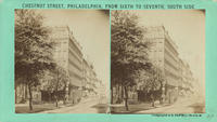 Chestnut Street, Philadelphia, from Sixth to Seventh, south side.