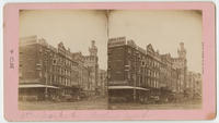 [Fifth and Market streets looking west.]