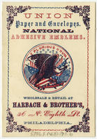 [Harbach & Brother's trade cards]