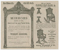 [Hale, Kilburn & Co. trade cards]