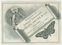 Opening of Spring novelties. Mahlon Bryan & Co., tailors, Nos. 9 & 11 South Eleventh Street, Philadelphia.