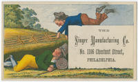 [The Singer Manufacturing Company trade cards]