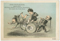 [John Wanamaker's Grand Depot trade cards]