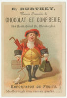 [E. Burthey trade cards]