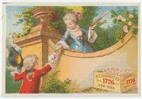 [B.T. Babbitt's Best trade cards]