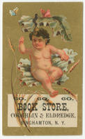 Coughlin & Eldredge, book store, Binghamton, N. Y. 60. 60. 60.