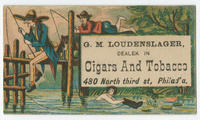 G.M. Loudenslager, dealek [sic] in cigars and tobacco, 480 North Third St., Philad'a.