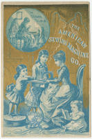 [American Sewing Machine Company trade cards]