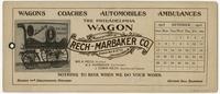 The Philadelphia Wagon manufactured by Rech-Marbaker Co. Girard Ave & 8th St. Philadelphia Pa.