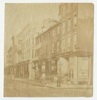 [Chestnut Street, east from Thirteenth Street, south side, Philadelphia]