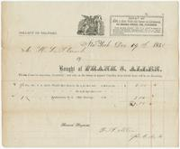 [Collection of billheads of pharmaceutical firms and related businesses, United States and United Kingdom, 1850-1879]