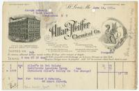 [Collection of billheads of pharmaceutical firms and related businesses, United States, 1882-1902]